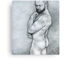 """Simplicity 4"" Canvas Print"