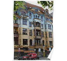 Kreuzberg Architecture Berlin Poster