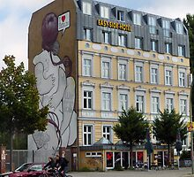 I Love Berlin Graffiti Art by SoulSparrow