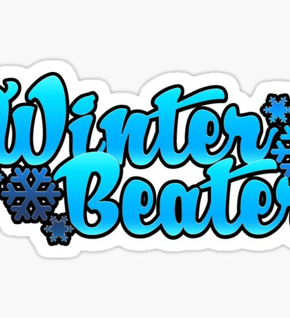 Winter Beater| snowflake Sticker