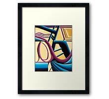 The Cycle Framed Print