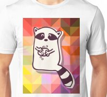 Raccoon who wash themselve Unisex T-Shirt