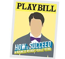 How to Succeed Playbill - DC by bethd03