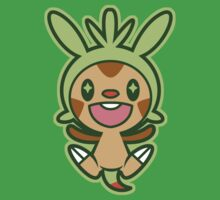 Chibi Chespin by DisfiguredStick