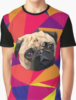 This pug loves you Graphic T-Shirt