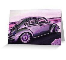 Silver Streak Greeting Card