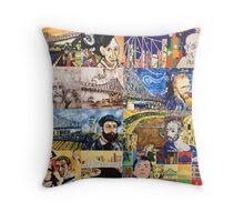Mini Masters Collage Throw Pillow