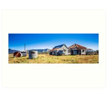 Tin Roof, Rusted Art Print