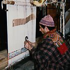 Carpet weaving, Srinigar, Kashmir by indiafrank