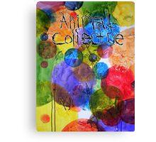 Animal Collective Dots Canvas Print