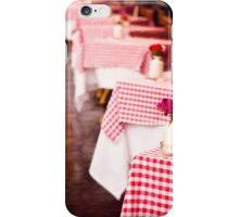 Cafe in Rome iPhone Case/Skin