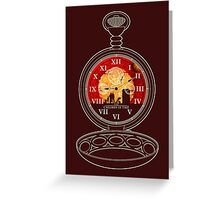 The Children of Time - Fob Watch Greeting Card