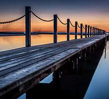 Narrabeen Sunrise 2 by Mandy  Harvey
