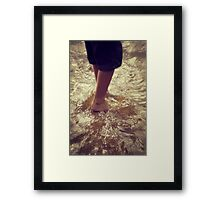Humble Feet Framed Print