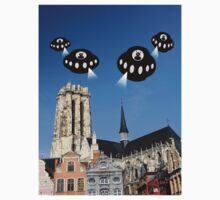 Aliens invade Mechelen by funkyworm