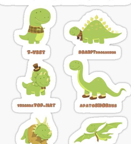 DANDYSAURUS Sticker