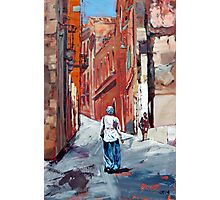 The Old Town, Sardinia, Italy Photographic Print