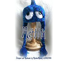 Blue Mehhhh Iphone Cover by MumblesMummy
