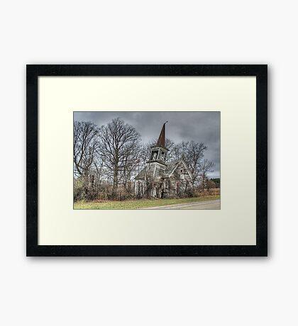 Lost Faith Framed Print