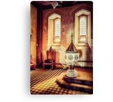 Cathedral Corner Canvas Print