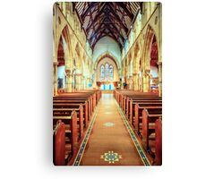 Catholic Cathedral Canvas Print