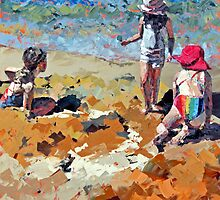 Sandcastles III by Claire McCall