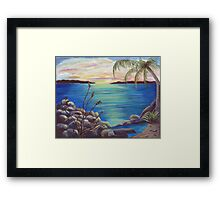 Bahama Bay Framed Print