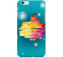 Ball Christmas and New Year hand-painted decoration. iPhone Case/Skin