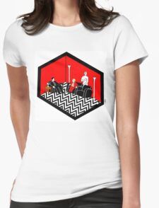 Twin Peaks Black Lodge Womens Fitted T-Shirt