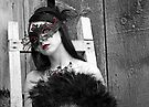 Girl in Mask, Ottawa Ontario by Debbie Pinard