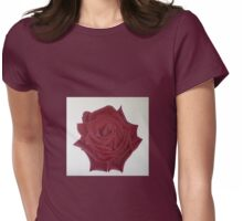 Mr. Lincoln Rose Womens Fitted T-Shirt