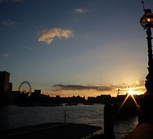 River Thames Sunset by Matt Keil