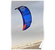 Kite Surfing - 1404 Poster