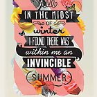 The Invincible Summer by Kavan  & Co