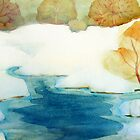 Aquarelle by Claudia Dingle