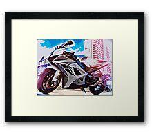 SUZIKI GSX-R 1000 Framed Print
