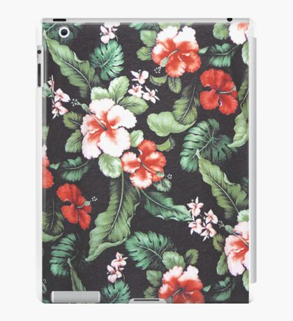 Floral Print iPad Case/Skin