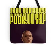 MY NAME IS ASAC SCHRADER Tote Bag