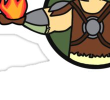 Fire Spells! Sticker