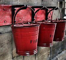 Fire Buckets by Matt Keil