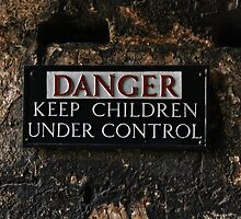DANGER - Keep Children Under Control by Matt Keil