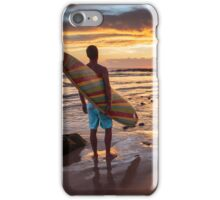 Surfer's Contemplation iPhone Case/Skin