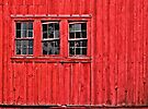 Three Windows on a Barn by cclaude