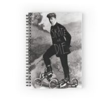 Skate or Die Spiral Notebook