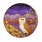 Barn Owl by Jezhawk
