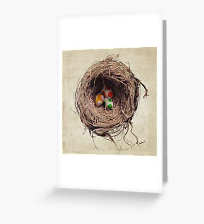 Yoshi Eggs Greeting Card