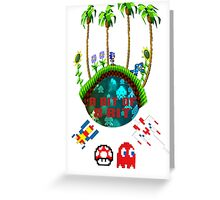 A Bit of 8-Bit Greeting Card
