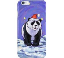 Panda Bear Christmas iPhone Case/Skin