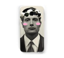Hannibal Kawaii and Flower Crowned Samsung Galaxy Case/Skin