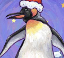 Penguin Christmas Sticker